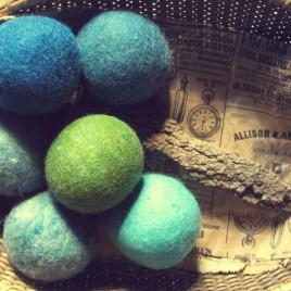Annual Sale! Odd Balls 8 oz of slightly irregular dryer balls 48 dollar value